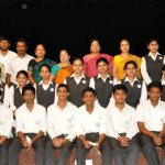 Photograh of ICSE – 2013 Batch Students  who have been granted scholarship.